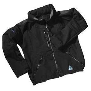 AquaTech Waterproof Field Jacket (XL) Extra Large, Black