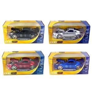 Jada Toys Set of 4 Cars 03 Nissan Z DUB City Toys
