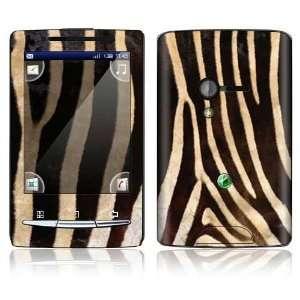 Zebra Print Design Decorative Skin Decal Sticker for Sony