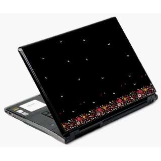 Universal Laptop Skin Decal Cover   Butterfly Night