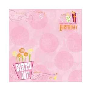 Girl Birthday Collection   12 x 12 Paper   Birthday Wishes Girl: Arts