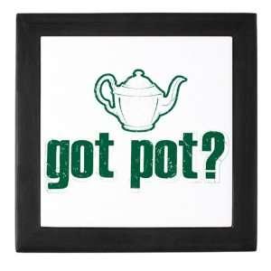 Keepsake Box Black Got Pot Marijuana Grunge Everything