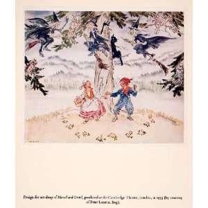 Hansel Gretel   Orig. Tipped in Print