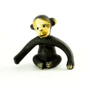 Walter Bosse Brass Monkey Figurine