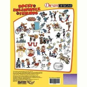Rocky and Bullwinkle and Friends Embroidery Designs on a