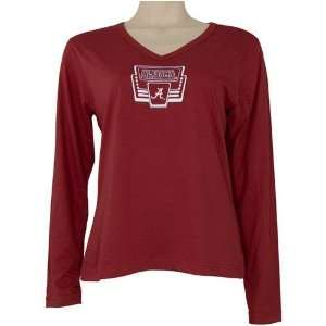 Alabama Crimson Tide NCAA Ladies Marquee Loungwear L/S Top