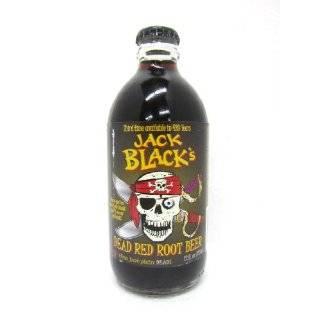 Jack Blacks ROOT BEER DEAD RED Dead Ahead , 12 Ounce Glass Bottle
