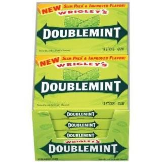 Wrigleys Juicy Fruit Gum, 15 Stick Slim Packs (Pack of 20)