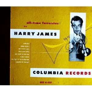 HARRY JAMES 4 RECORD SET COLUMBIA RECORDS ALL TIME