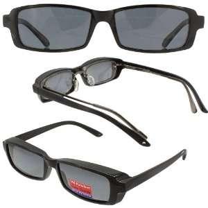 Slim Jim Mini Over Prescription Sunglasses Grey Polarized Lenses
