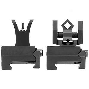 Troy Industries Micro M4 Style Front and DOA Rear Folding Battle Sight