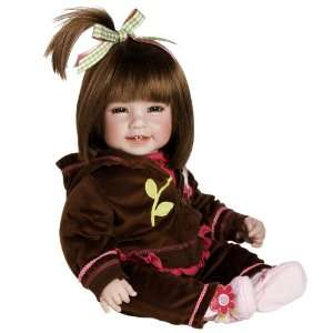 Adora Baby Doll, 20 inch Workout Chic Brown Hair/Brown Eyes : Toys