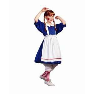 RG Costumes 91229 S Deluxe Rag Doll Costume   Size Child