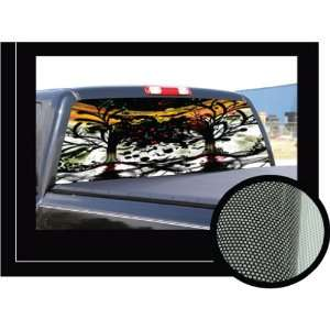 FACES OF DEATH22 x 65   Rear Window Graphic   back truck decal suv