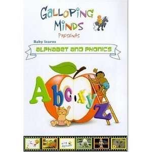 Galloping Minds Baby Learns Alphabet and Phonics DVD Toys