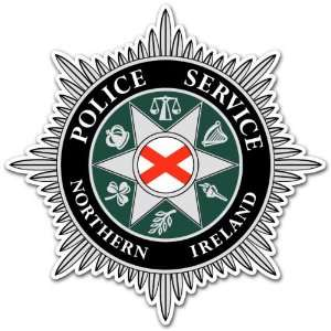 Police Service of Northern Ireland Army Forces Sticker 4