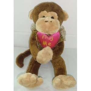 HUG ME   Monkey Love Heart 16 Plush ~ Valentines Day