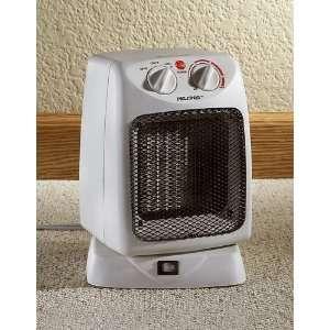 Pelonis® Ceramic Oscillating Heater Off White