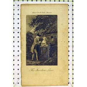 Insidious Lover Man Woman Romance Gate House Garden
