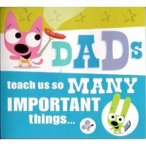 Hoops & Yoyo Fathers Day Greeting Card with Sound By