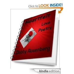 Heartfelt Love Poetry: Debby Rosenberg:  Kindle Store