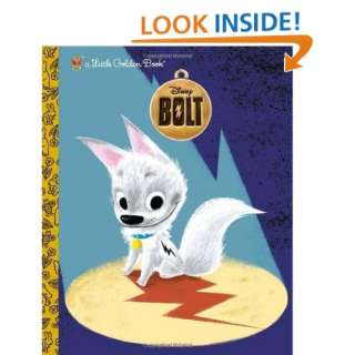 Bolt (Disney Little Golden Book) (9780736425452): RH