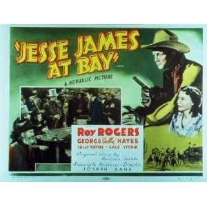 Jesse James at Bay Movie Poster (11 x 14 Inches   28cm x 36cm) (1941