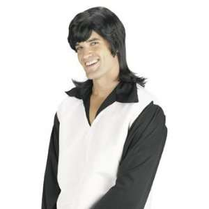 Leading Man Black Wig   Costumes & Accessories & Wigs & Beards