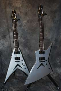 Dean Guitar Dave Mustaine Zero VMNT V Silver NEW Case
