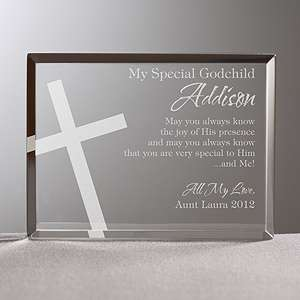 Personalized Religious Gifts   Godchild Keepsake   10680