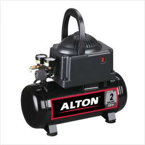 Alton 2 Gallon Single Stage Air Compressor Tools