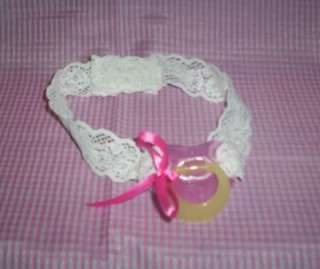 ADULT SISSY BABY STRAP ON  TIME OUT PACIFIER PINK