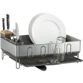steel frame grey dish rack industrial chic stainless steel frames