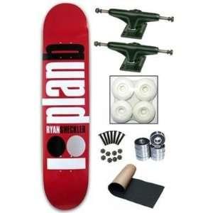 Plan B Ryan Sheckler Public Skateboard Deck Complete