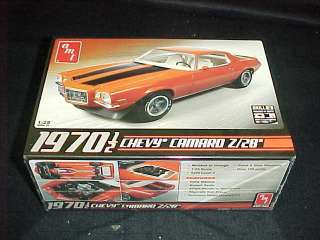 AM 1970 1/2 Chevy Camaro Z/28 125 scale plasic car model ki #0635