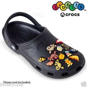 Boys or Girls Your Choice! Assorted Genuine Crocs Jibbitz 10 Pack for