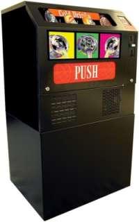 Compact Soda Vending Machine w/ Stand, Seaga Drink Beverage Vendor