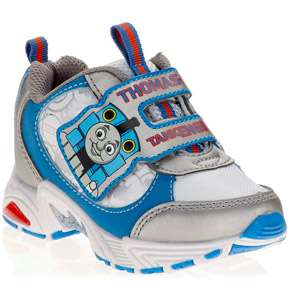 Thomas the Train   Toddler Boys Velcro Sneakers: Shoes