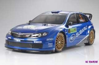 10 Tamiya 51364 Body Set Subaru Impreza WRC 08