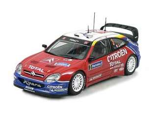 Xsara WRC (2004 Rally France) in Red (1:43 scale by AUTOart 60438