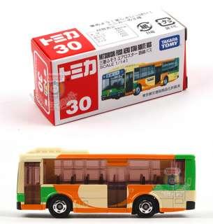 NEW TOMICA #30 MITSUBISHI FUSO AERO STAR BUS 742104