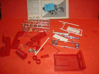 AMT 1969 Chevy Fleetside Pickup Truck Model Car Parts Kit