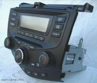 2003 2004 2005 2006 2007 Honda Accord Radio CD Player