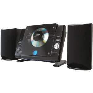 COBY CXCD380BLK MICRO CD PLAYER STEREO SYSTEM WITH PLL AM