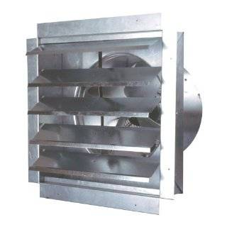 MaxxAir IF14 1400 CFM 14 Inch Blade Heavy Duty Exhaust Fan with
