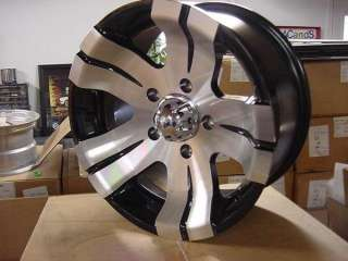 ION CHEVY GMC TOYOTA 6 LUG WHEELS 15X8 / CHEVY TRUCK / FORD JEEP CJ