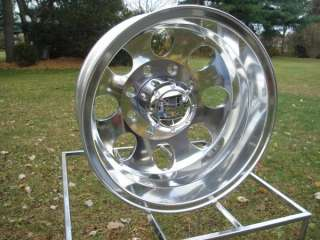 16 FORD GMC CHEVY DODGE DUALLY POLISHED WHEELS