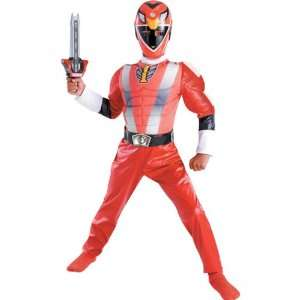 Power Ranger Classic Muscle Costume (Boy   Child Medium 7 8) Toys