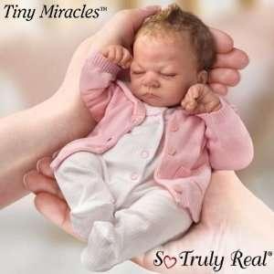 Ashton Drake Tiny Miracle Emmy So Truly Real Baby Doll