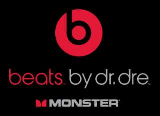 MONSTER BEATS Dr. DRE IN EAR HEADPHONES EARPHONES TOUR BLACK CONTROL